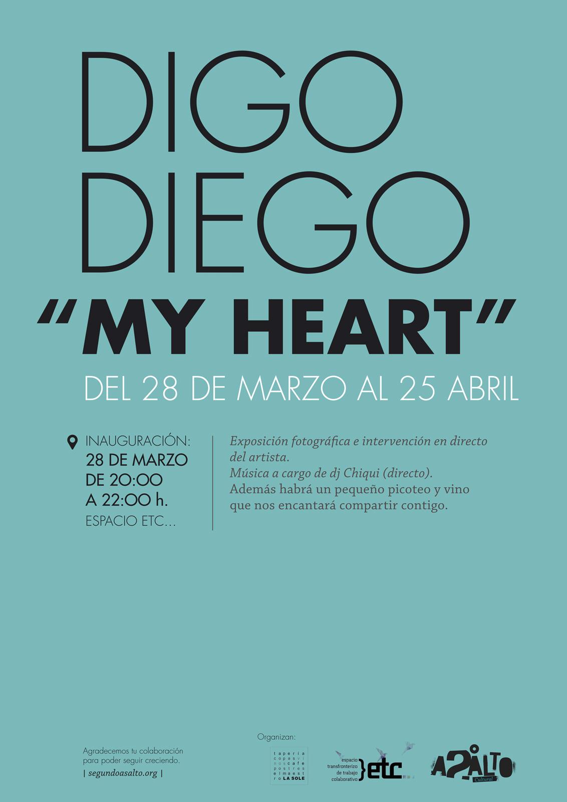 Cartel Digo Diego